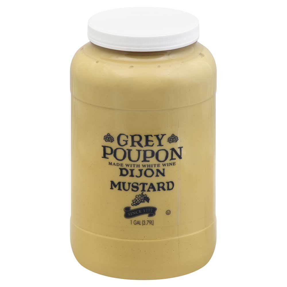 Grey Poupon Classic Mustard, 2 Case -- 1 Gallon