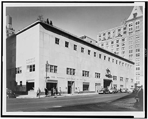 photo-parke-bernet-galleries-inc-national-city-bank-new-york-building-nyc-1950-size-8x10-a