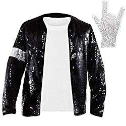 Billie Jean Armband Sequin Jacket Crystal Glove