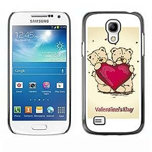 Paccase / SLIM PC / Aliminium Casa Carcasa Funda Case Cover - Valentines Day - Samsung Galaxy S4 Mini i9190 MINI VERSION!