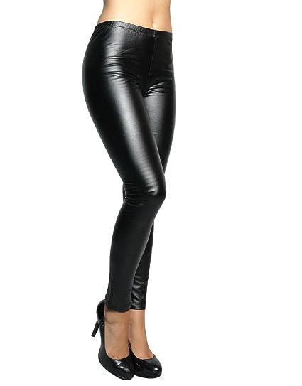 vendita a buon mercato usa San Francisco miglior grossista Fair Leggings Donna Effetto Pelle Termici Felpati Caldi Pantaloni ...