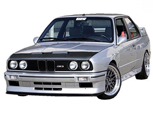 HOOD BRA Front End Nose Mask for BMW 3 E30 1982-1994 Bonnet Bra STONEGUARD PROTECTOR -