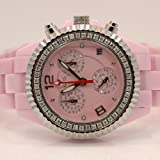 Aqua Master Ladies Ceramic Diamond Watch 1.25ctw W115