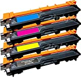 Global Cartridges TN221 TN225 Premium High Yield Toner Cartridges Set for Brother HL-3140, HL-3140CW, HL-3170, HL-3170CDW, MFC-9130, MFC-9130CW, MFC-9330, MFC-9330-CDW, MFC-9340, MFC-9340CDW - Black