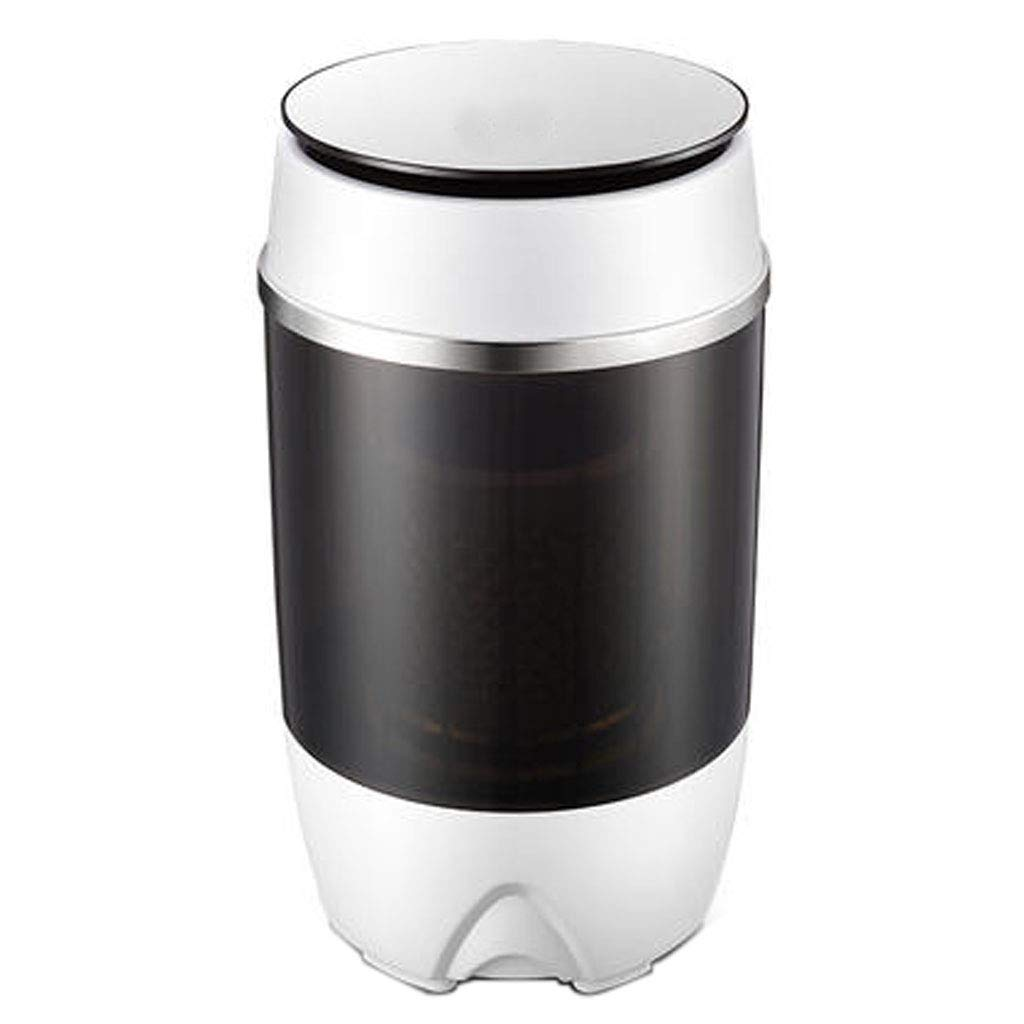 Portable Washing Machine,Semiautomatic Compact Washer Spin Dryer for Apartment, Hotel, Dorm (Black) - 3660 cm