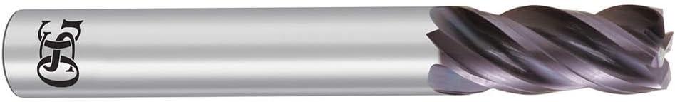 1 Length of Cut EXO OSG Tap And Die 2052 Number of Flutes: 4 1//2 Milling Diameter Corner Radius End Mill 205296311