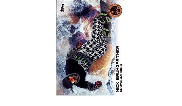 Amazon.com: 2014 Topps U.S. Olympic Team Silver #100 Nick Baumgartner: Collectibles & Fine Art