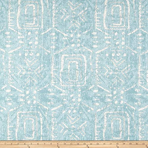 Swavelle/Mill Creek Taranis Ice Blue Fabric Fabric by the Yard (Ice Blue Upholstery)