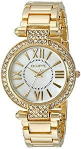 Valletta Women's FMDCT514A Analog Display Quartz Gold Watch