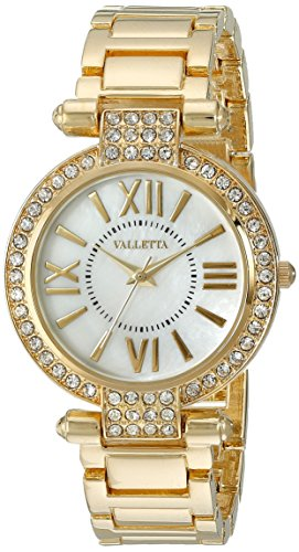 Valletta Women's FMDCT514A Analog Display Quartz Gold Watch