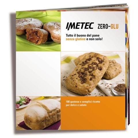 Imetec ime7815 Zero-Glu máquina del PAN sin glutine Capacidad 1 Kg potencia 920 W Color Silver/blanco + Cookbook 100 recetas: Amazon.es: Hogar