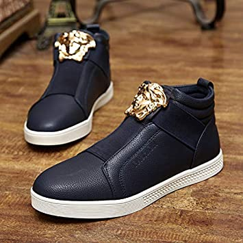 f14bb5509f5 LOVDRAM Boots Men s Autumn And Winter Men S Boots Youth Shoes High Help  Martin Boots High Junior
