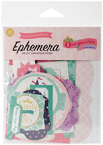 (Echo Park Paper Company Once Once Upon A Time-Princess Ephemera)