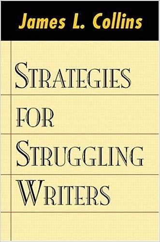 "Image result for James L Collins strategies for struggling writers"""