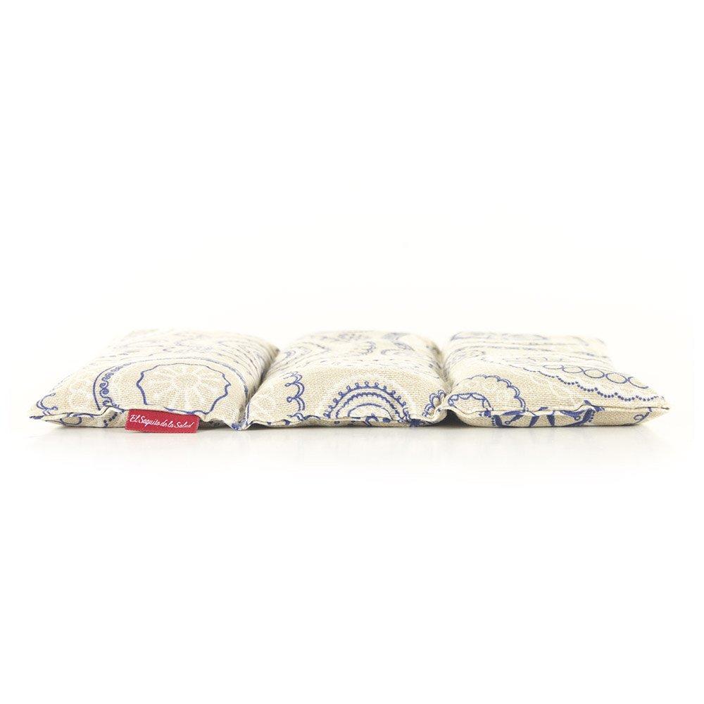 Saco Térmico de Semillas aroma Lavanda, Azahar o Romero tejido Espirales (Romero, 23 cm): Amazon.es: Hogar