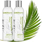 keratin blow dryer - Moroccan Argan Oil Shampoo and Conditioner, SLS Sulfate Free + Cruelty Free, Best for Damaged, Dry, Curly or Frizzy Hair - Thickening for Fine/Thin Hair, Safe for Color Treated, Keratin Treated Hair