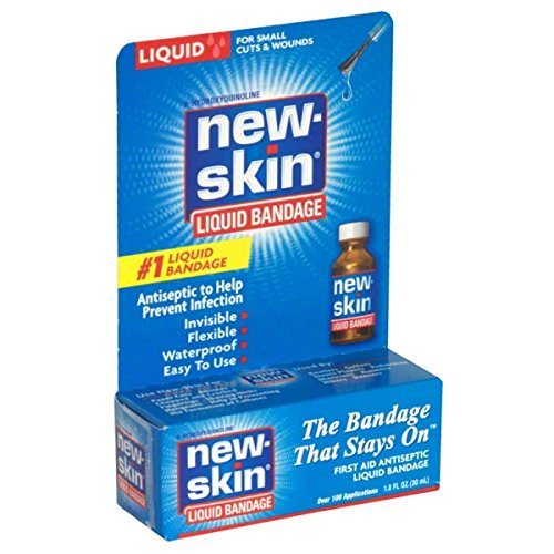 New-skin Antiseptic Liquid Bandage - 1 Oz (Pack of 5)