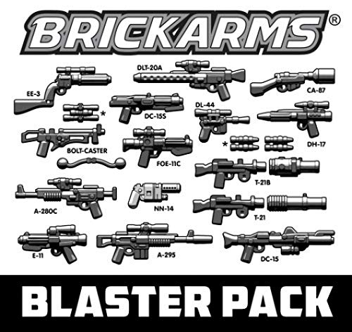BrickArms Blaster Pack 2.5-Inch Weapons Pack