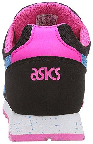 ASICS - Curreo, Zapatillas unisex adulto Negro / Azul Royal / Fucsia