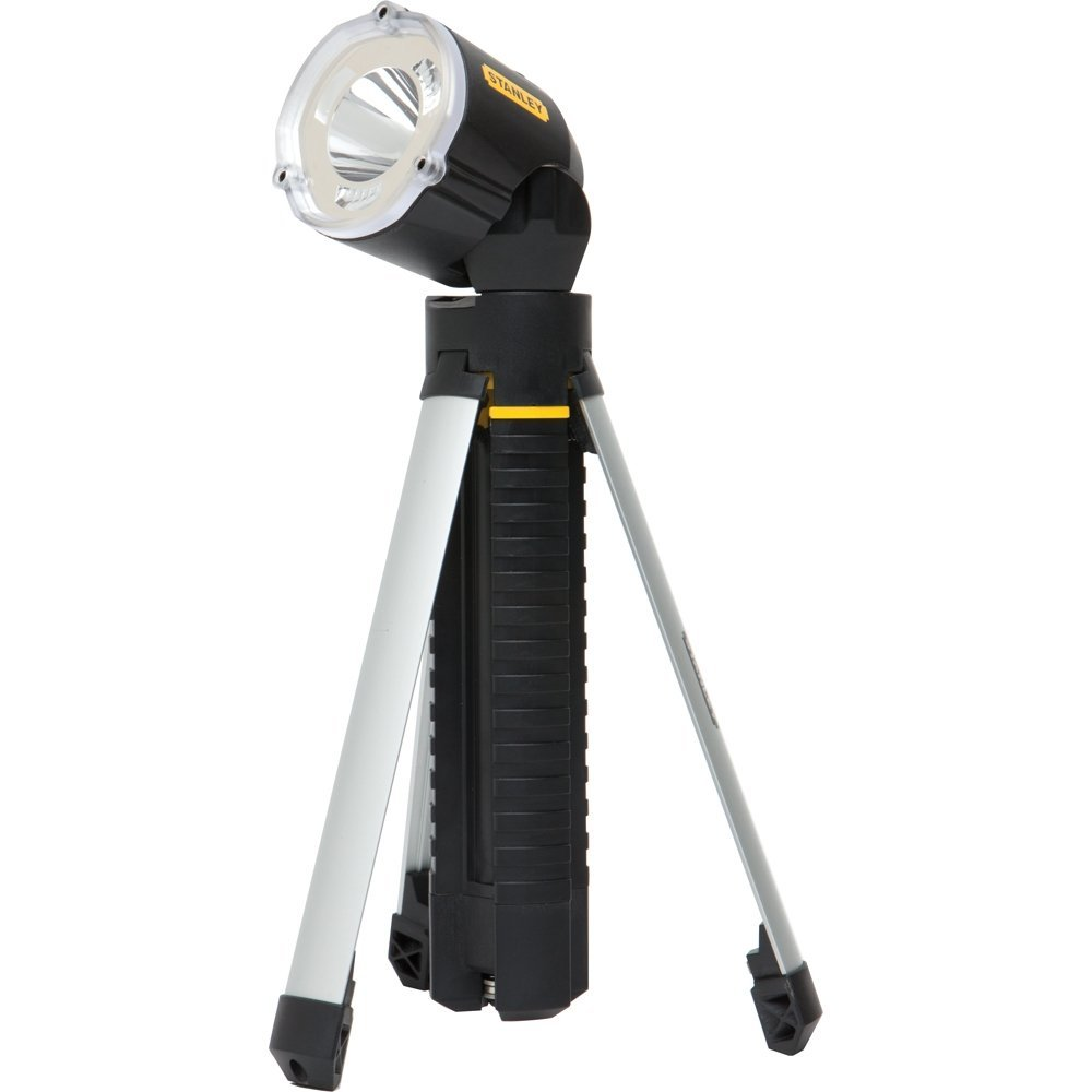 Stanley 95-112B LED Tripod Flashlight Black [並行輸入品] B01N1R9SX7