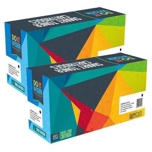 Do it Wiser Remanufactured Toner Cartridge For Okidata C610 C610n C610dn C610cdn C610dtn - 44315304 - 2 Pack Photo #2