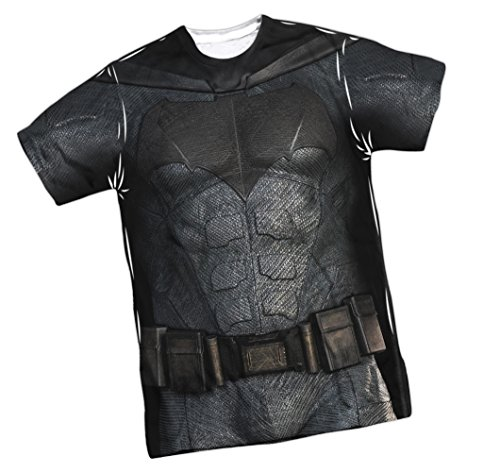justice+league Products : Batman Costume -- Justice League Movie Front/Back Sports Fabric T-Shirt