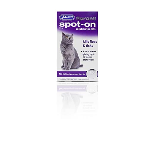 PET-119104 Desparasitante para gatos Johnsons Fipronil Spot ...