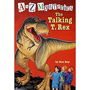 A to Z Mysteries: The Talking T. Rex Audiobook