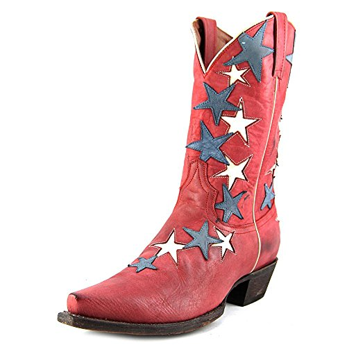 American Rebel Boot Company Country Star Women US 8 Red Western Boot