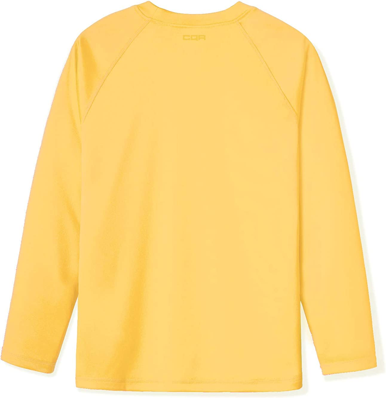 CQR Kids Boys and Girls UPF 50 Long Sleeve Sun Protection Outdoor Performance Hiking Top T-Shirt