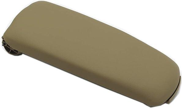 Ezzy Auto Leather Center Console Armrest Lid Cover Center Console Armrest Box Cover fit for Audi A4 B6 B7