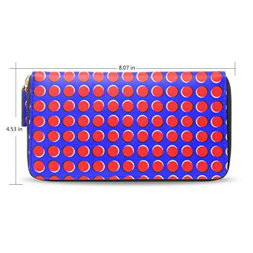 Holder Lady Graphic Nourison Illusions Purse Wallet Clutch Card Long Credit Bennigiry Apaqwxp