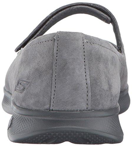Lite Step Skechers Mary Femme Go Charbon Noir Janes q48Tw78U