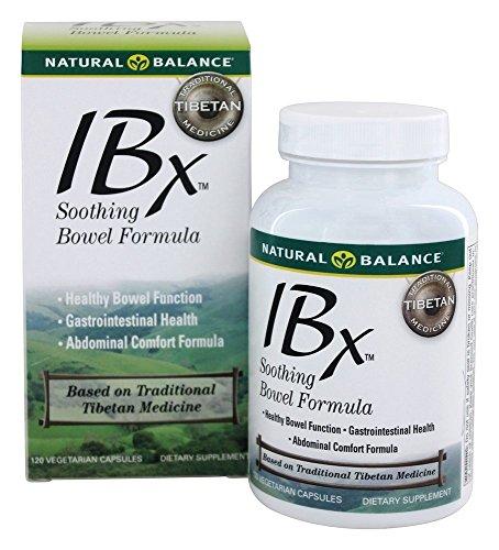 Natural Balance - IBX Soothing Bowel Formula - 120 Vegetarian (Bowel Formula 120 Capsules)