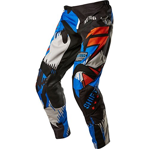 Shift Racing Strike Army Men's Off-Road Motorcycle Pants - Cyan / - Shift Strike Pants