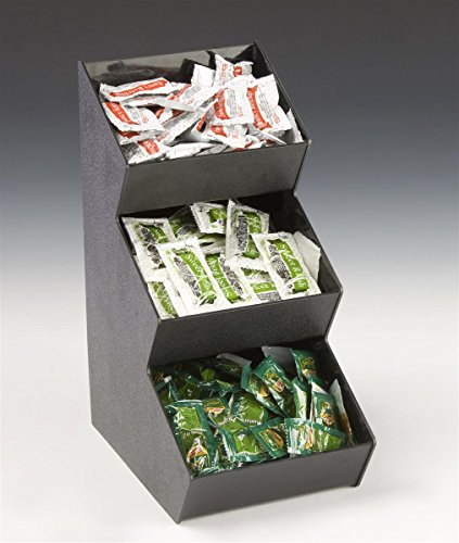 Displays2go D2G13988 Countertop Organizer with 3 Pockets