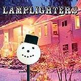 Snowman Head Christmas Outdoor Light lightpost