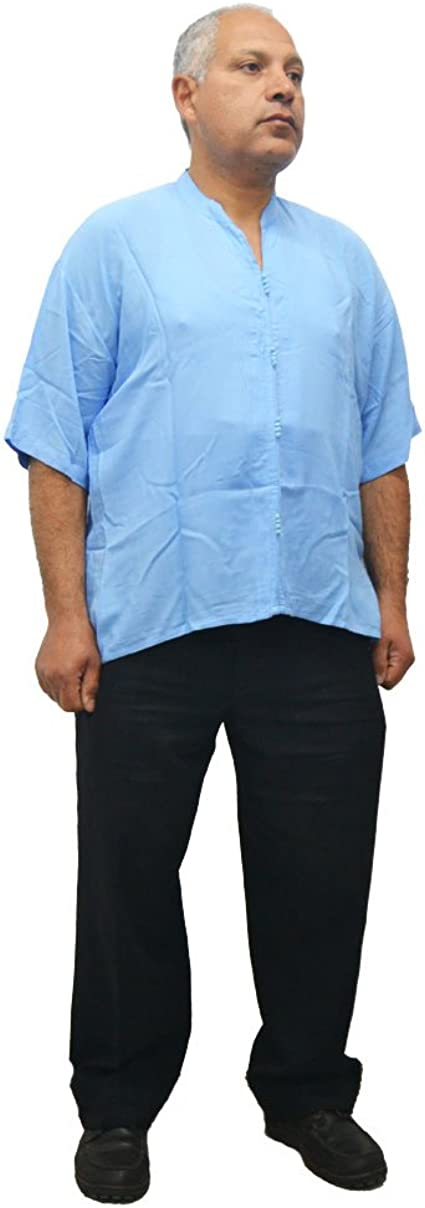 Camisa, Blusa Lisa Muy cómoda 100% algodón marroquí árabe Unisex para Hombre o Mujer: Amazon.es: Ropa y accesorios