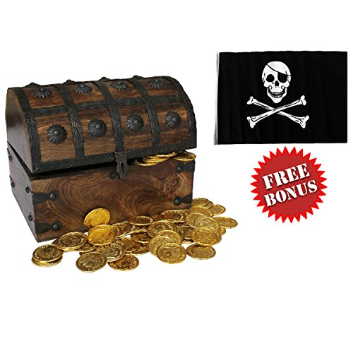 Nautical Cove Wooden Pirates Treasure product image