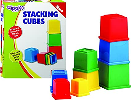 Funskool Giggles Stacking Cubes
