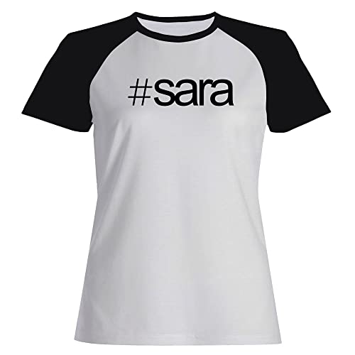 Idakoos Hashtag Sara - Lingue - Maglietta Raglan Donna