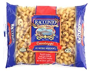 Racconto Cavatappi, 16-Ounce Packages (Pack of 12)
