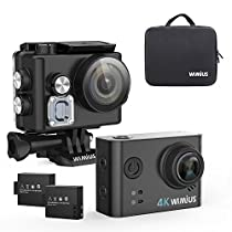 WiMiUS L2 Camara Accion Wifi HD 1080P 12MP