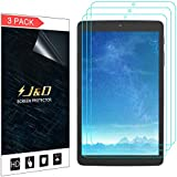 J&D [3-Pack] Alcatel A30 Tablet 8 inch Screen Protector, Premium HD Clear Film Shield Screen Protector for Alcatel A30 Tablet 8 inch