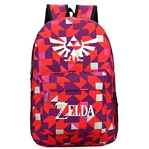 xcoser The Legend of Zelda Backpack Oxford Cloth Large Capacity Travel School Bag -