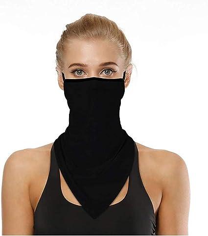 Doriley Face Shield,Foulards de randonn/ée femme,Masque de Motoneige de Motard Cache-Cou S/échage Rapide Cache-Col Anti-Solaire Respirant Ultra-Douce V/élo Moto pour Toutes Saisons Unisex
