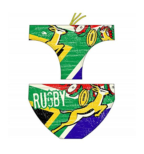 Turbo - bañador RUGBY SOUTH AFRICA VINTAG (S/30)