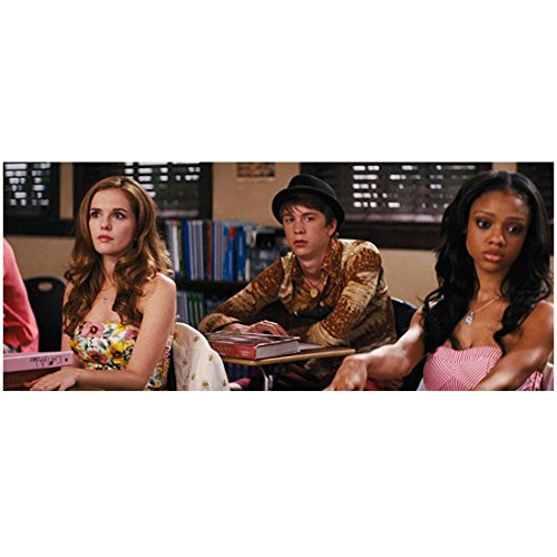 Beautiful Creatures Zoey Deutch, Thomas Mann, and Tiffany Boone in class 8 x 10 Inch - Number Tiffany Order