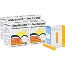 Genultimate Blood Glucose Test Strips for Use with One Touch Ultra, Ultra 2...
