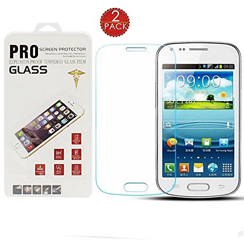 [2 Pack] Samsung S7582 Galaxy S Duos 2 Screen Protector,Silverback? Premium Crystal Clear Transparent Tempered (Samsung S Duos Screen Protector)